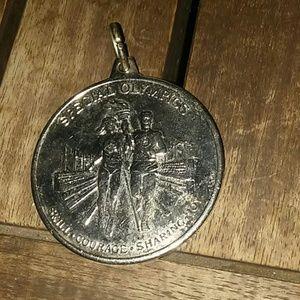 Vtg. Special Olympics MEDAL/Pendant